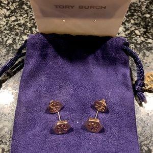 Tory Burch hexalogo earrings